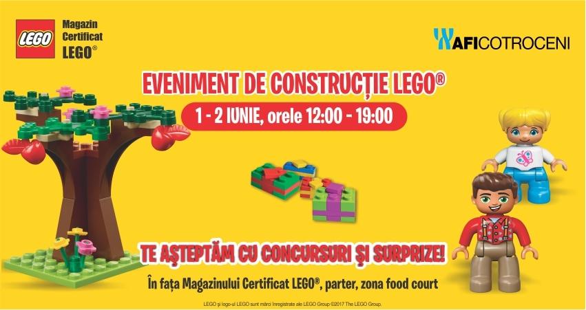 Eveniment de constructie Lego