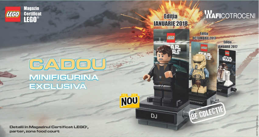 Campania Star Wars: Cadou Figurina Exclusiva!