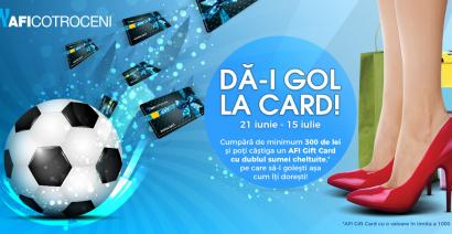 Da-i GOL la card!